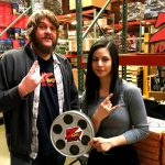 Nick Anderson with winner at AMain Hobbies distribution center in Chico for the Z-Rock Munch Box