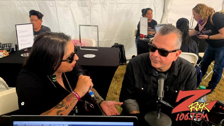 106.7 Z-Rock at Aftershock Festvial 2019 Friday October 11th 2019 at Discovery Park in Sacramento California, Frost interview Jean-Paul Gaster from Clutch