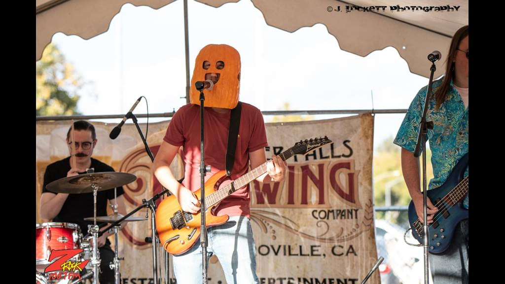 Kairomone plays the Feather Falls stage at Pumpkinhead 2019 live at Carl's Jr on East and Esplanade in Chico California for 106.7 Z-Rock