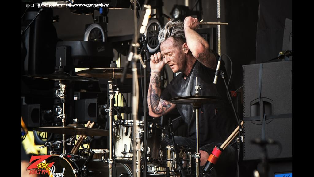 106.7 Z-Rock at Aftershock Festvial 2019 Friday October 11th 2019 at Discovery Park in Sacramento California, DED performs
