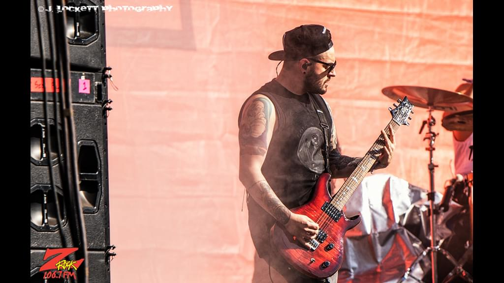 106.7 Z-Rock at Aftershock Festvial 2019 Friday October 11th 2019 at Discovery Park in Sacramento California, I Prevail performs