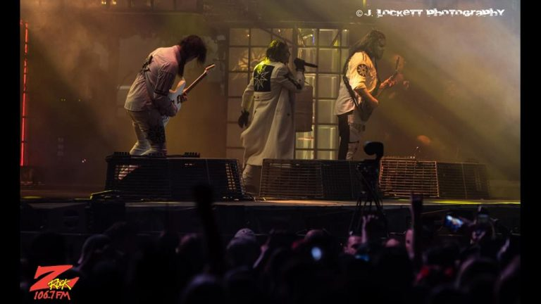106.7 Z-Rock at Aftershock Festvial 2019 Friday October 11th 2019 at Discovery Park in Sacramento California, Slipknot performs