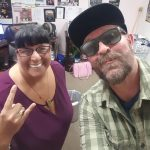 Tim Buc Moore delivers Mad Dash pizza to the crew at Evans Furniture in Chico for the Z-Rock Munch Box on 106.7 Z-Rock