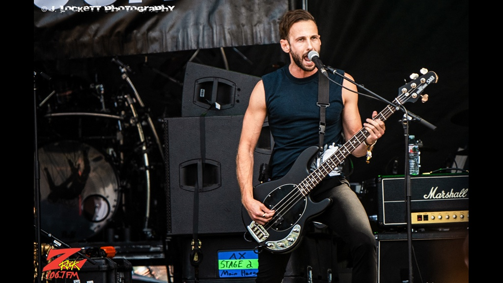 106.7 Z-Rock at Aftershock Festvial 2019 Sunday October 13th 2019 at Discovery Park in Sacramento California, New Language Performs