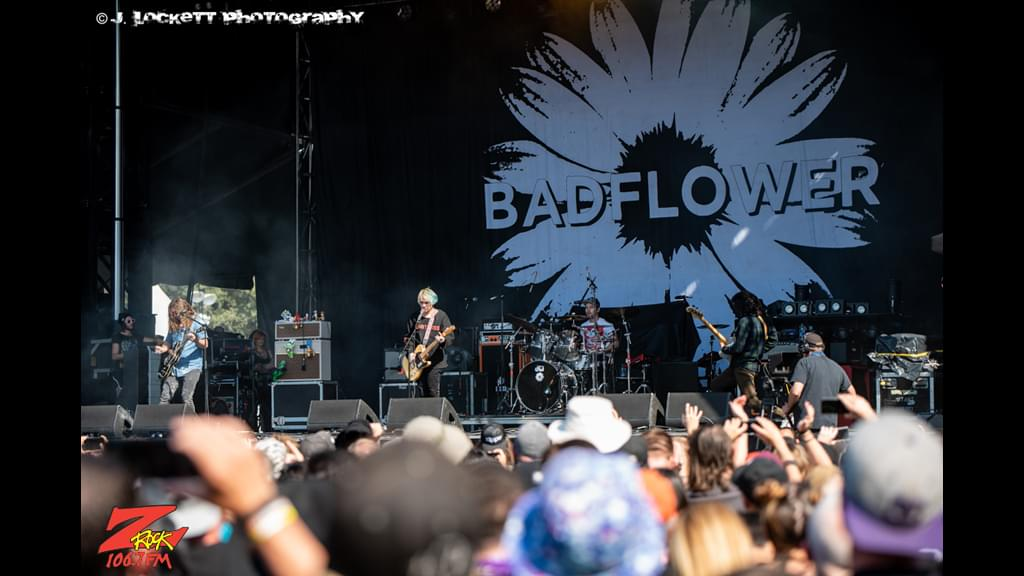106.7 Z-Rock at Aftershock Festvial 2019 Saturday October 12th 2019 at Discovery Park in Sacramento California, Badflower performs