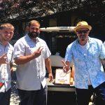 Tim Buc Moore with winners from Glen Oaks Memorial Park for the Z-Rock Munch Box on 106.7 Z-Rock
