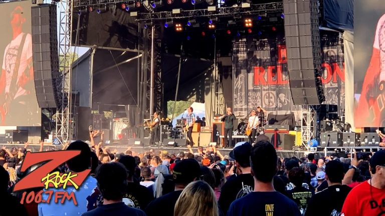 106.7 Z-Rock at Aftershock Festvial 2019 Saturday October 12th 2019 at Discovery Park in Sacramento California, Bad Religion performs