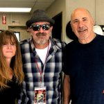 Tim Buc Moore with winners from Valley Sand and Rock for the Z-Rock Munch Box on 106.7 Z-Rock