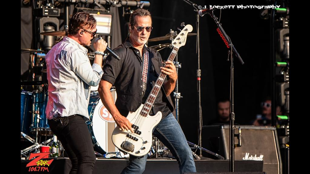 106.7 Z-Rock at Aftershock Festvial 2019 Saturday October 12th 2019 at Discovery Park in Sacramento California, Stone Temple Pilots performs