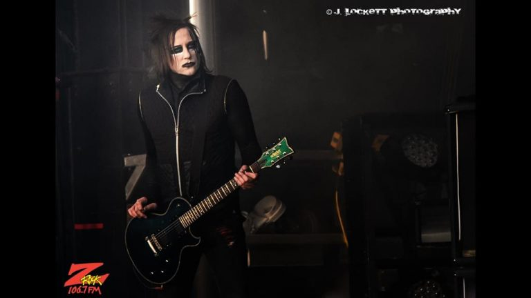 106.7 Z-Rock at Aftershock Festvial 2019 Saturday October 12th 2019 at Discovery Park in Sacramento California, Paul Wiley of Marilyn Manson performs