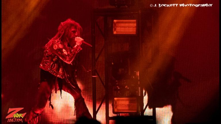 106.7 Z-Rock at Aftershock Festvial 2019 Saturday October 12th 2019 at Discovery Park in Sacramento California, Rob Zombie performs
