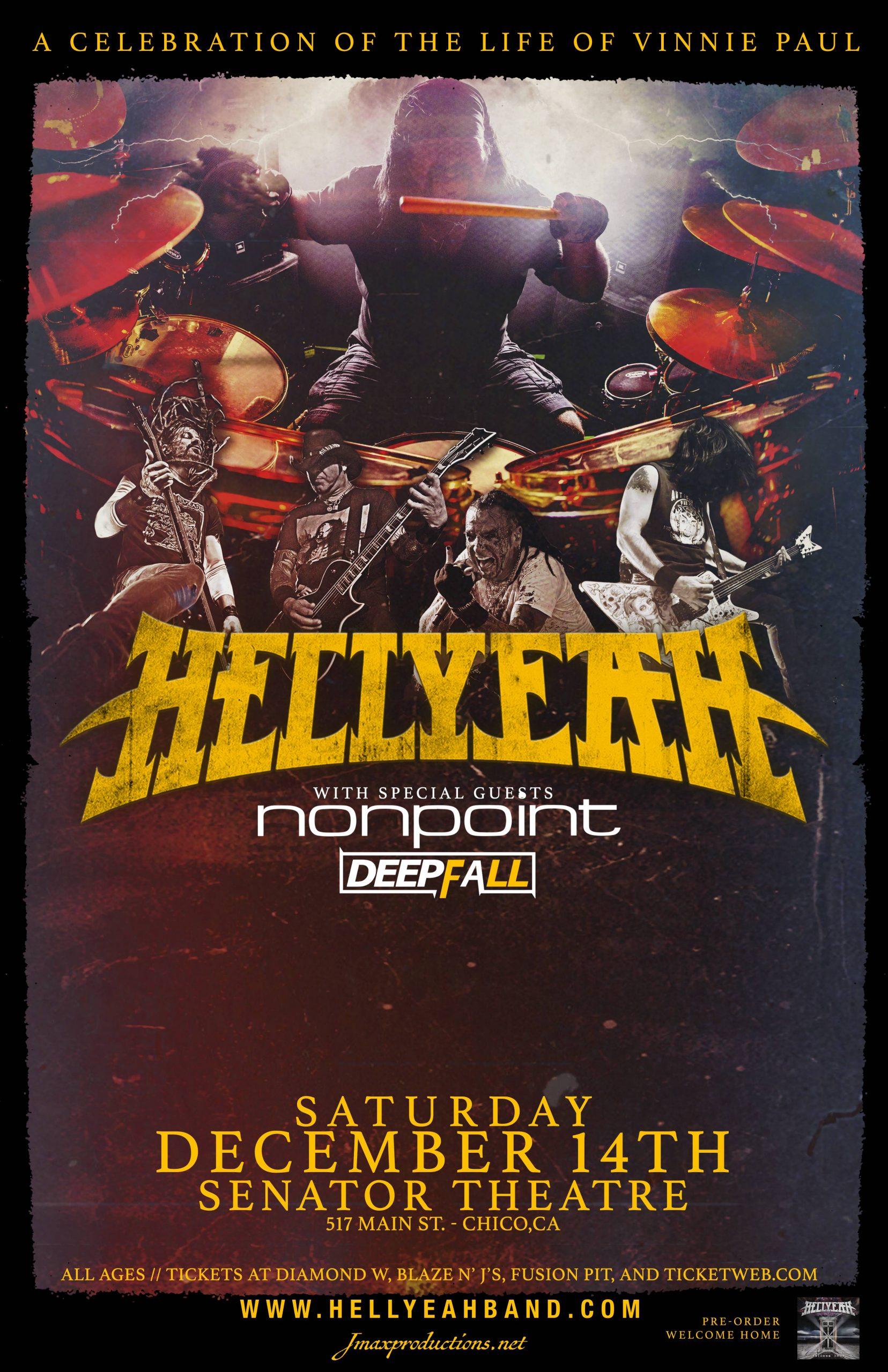 Win HellYeah tickets from 106.7 Z-Rock