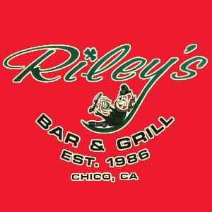Riley's 90s@Noon Logo for 106.7 Z-Rock in Chico CA