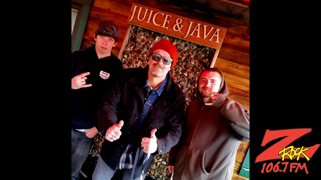 Tim Buc Moore with the homies at Wake the Buc Up round 2 in Paradise at Juice and Java