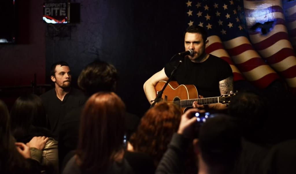 Trapt Acoustic nights at the Tacklebox in Chico