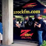 106.7 Z-Rock broadcasting live from the Redding Civic Auditiorium before Modest Mouse on May 20th 2018