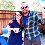 Tim Buc Moore's live morning show tour of Butte County, Wake the Buc Up with listener at Juice and Java in Paradise August 9th 2018