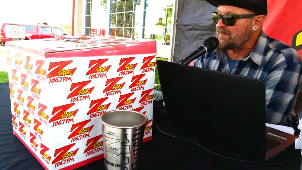 Tim Buc Moore's morning show live from Jeff's California Cattle Company in Redding for Wake the Buc Up on 106.7 Z-Rock August 23rd 2018