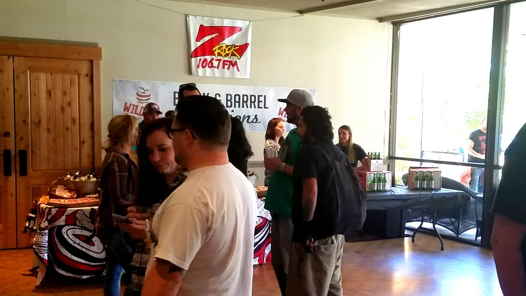 The Pumpkinhead Turns 21 Brewfest at Manzanita Place in Chico California with 106.7 Z-Rock