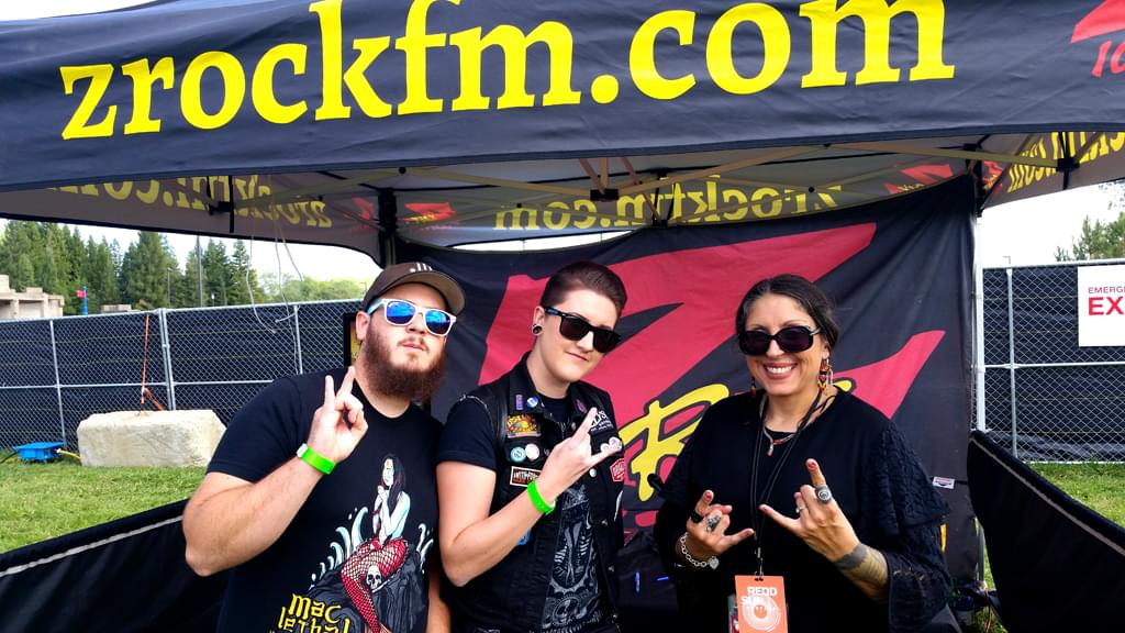 106.7 Z-Rock at the Redd Sun Festival at the Redding Civic Auditorium front lawn September 29th 2018 featuring Floater, Lit, Candlebox, and AWOLNATION