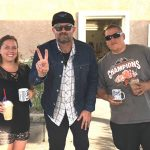 Tim Buc Moore's live morning show tour of Butte County, Wake the Buc Up with listeners at River's Hot Dogs in Oroville October 25th 2018