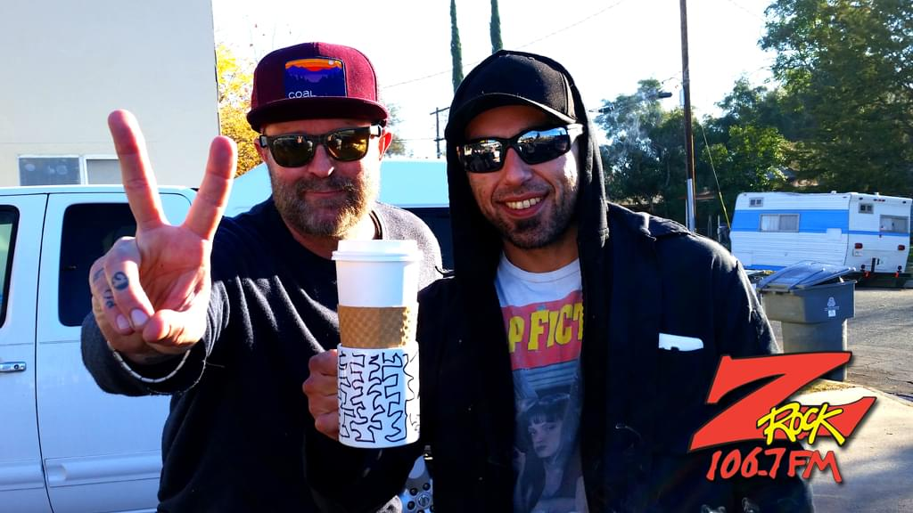 Tim Buc Moore with a listener at Wake the Buc Up in Oroville at Lots 'A Java Thursday December 6th 2018Tim Buc Moore with a listener at Wake the Buc Up in Oroville at Lots 'A Java Thursday December 6th 2018