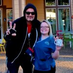 Tim Buc Moore with a Buc-head at Jaki's Hilltop Cafe in Magalia for Wake the Buc Up on 106.7 Z-Rock, Thursday June 27th 2019