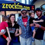 Tim Buc Moore with a Buc-heads I-5 Cafe & Creamery in Orland for Wake the Buc Up on 106.7 Z-Rock, Thursday October 1st 2019