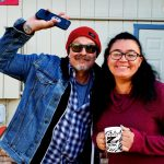 Tim Buc Moore with a Buc-Head at Lots' A Java in Oroville for Wake the Buc Up on 106.7 Z-Rock October 3rd 2019