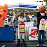 23rd Annual Pumpkinhead contest at Carl's Jr on East and Esplanade in Chico California with 106.7 Z-Rock