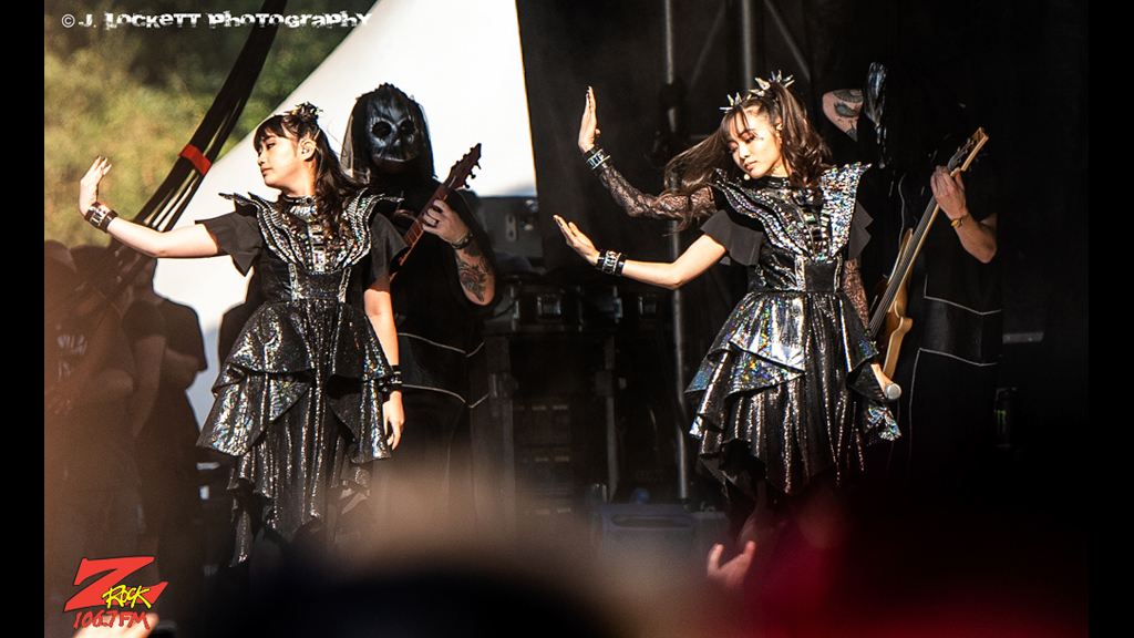 106.7 Z-Rock at Aftershock Festvial 2019 Sunday October 13th 2019 at Discovery Park in Sacramento California, Babymetal Performs