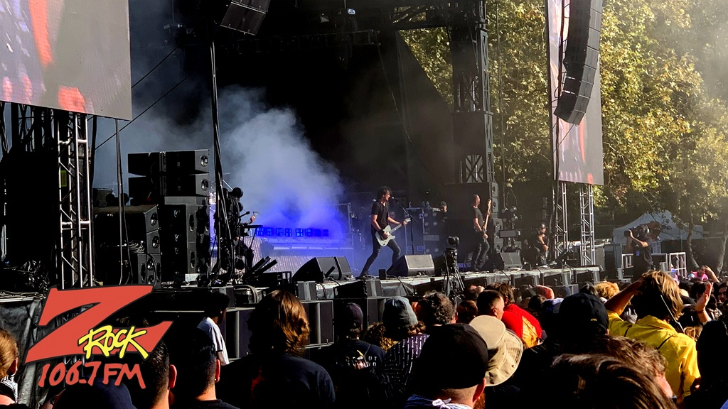 106.7 Z-Rock at Aftershock Festvial 2019 Sunday October 13th 2019 at Discovery Park in Sacramento California, Gojira Performs