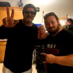 Tim Buc Moore with winner at the Sierra Center for the Z-Rock Munch Box on 106.7 Z-Rock