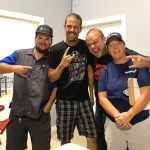 Boris with winners from Johnny on the Spot in Chico for the Z-Rock Munch Box