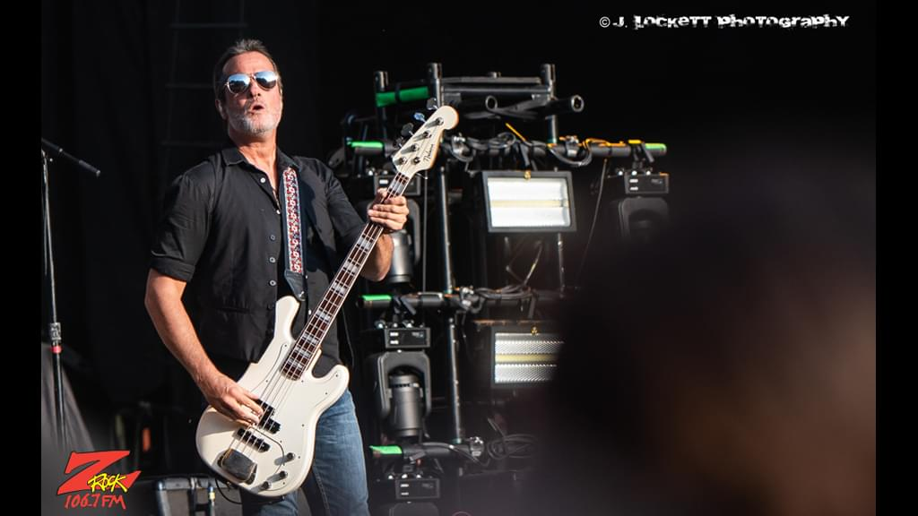 106.7 Z-Rock at Aftershock Festvial 2019 Saturday October 12th 2019 at Discovery Park in Sacramento California, Robert Deleo of Stone Temple Pilots performs