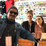 Tim Buc Moore with winners from Blaze N J's in Chico for the Z-Rock Munch Box on 106.7 Z-Rock