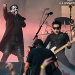 106.7 Z-Rock at Aftershock Festvial 2019 Saturday October 12th 2019 at Discovery Park in Sacramento California, Marilyn Manson performs
