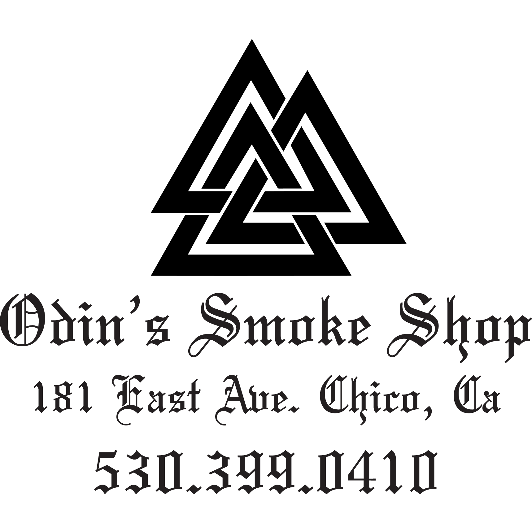 Odin's Smoke Shop, 2020 sponsor of Wake the Buc Up in Chico for 106.7 Z-Rock