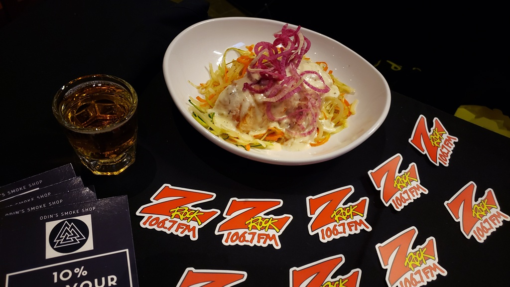 Another tasty food pairing, PASTA and beer at Feather Falls Brewing Company in Oroville CA on 106.7 Z-Rock for Feather Falls Friday