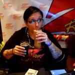 Frost enjoys some tasty brews during Beer-30 on 106.7 Z-Rock during Feather Falls Fridays at Feather Falls Brewing Company in Oroville CA