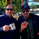 Tim Buc Moore hanging with a loyal Buc-Head at Coffee Ranch in Chico California for Wake the Buc Up on 106.7 Z-Rock