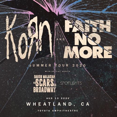 Win Korn & Faith No More Tickets