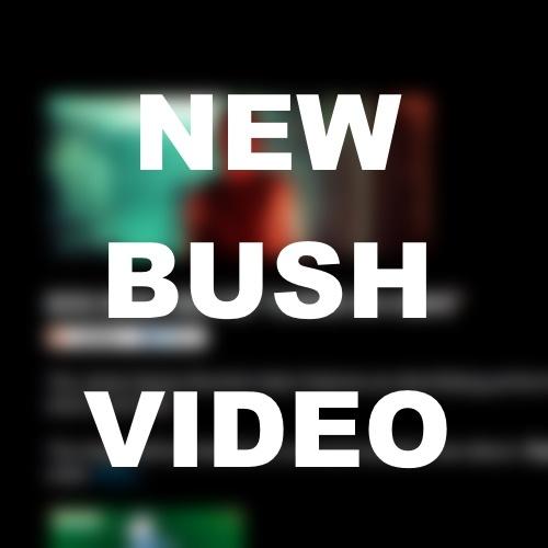 MUSIC VIDEO: First Single Off New Bush Album