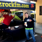 Tim Buc Moore with a loyal Buc Head at PV Circle K Chevron in Chico California for Wake the Buc Up on 106.7 Z-Rock