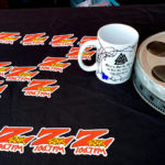 """World famous Z-Rock """"doodle"""" mug during Wake the Buc Up at PV Circle K Chevron in Chico CA on 106.7 Z-Rock"""