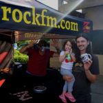 Tim Buc Moore with loyal Buc Heads at PV Circle K Chevron in Chico California for Wake the Buc Up on 106.7 Z-Rock