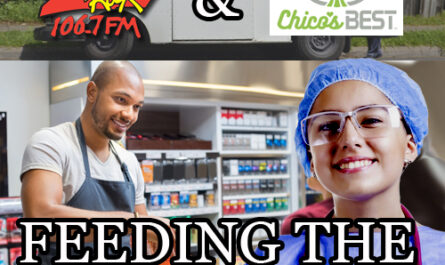 Feeding the Front Lines with Chico's Best and 106.7 Z-Rock