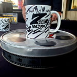 """World famous Z-Rock """"doodle"""" mug at Lots' A Java in Oroville California for Wake the Buc Up on 106.7 Z-Rock October 15th 2020"""
