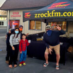 Tim Buc Moore with loyal Buc Heads at Lots' A Java in Oroville California for Wake the Buc Up on 106.7 Z-Rock October 15th 2020