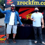 Tim Buc Moore with a local Buc Head at the PV Circle K/Chevron in Chico California for Wake the Buc Up on 106.7 Z-Rock October 8th 2020